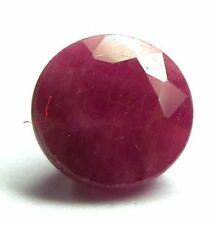 Round Opaque Loose Natural Rubies