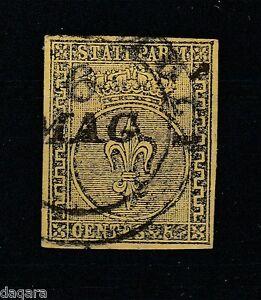 BB.218 - Parma stamps, 1852, Sassone 1