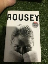 Ronda Rousey signed book UFC champion