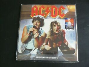AC/DC FRENCH KISSIN DYNAMITE LIVE ZENITH PARIS 1988 LIMITED 2LP