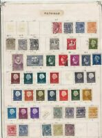 netherlands stamps page  ref 10719