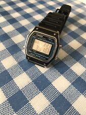 Vintage Very Rare Marlin Casio W-450 Watch 100M Alarm Chrono Module 248. Super