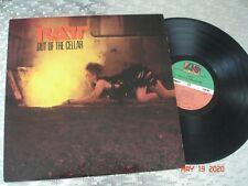 "Ratt  ""Out Of The Cellar""  Vintage Hair Metal LP   Atlantic 7 80143-1 RCA Club"