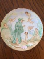 "Hutschenreuther Germany Collector 8"" Plate Sandy Nightingale ""Water Babies"" 274A"