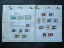 ESTATE: Fiji Collection on Pages, Great Item! (p2781)