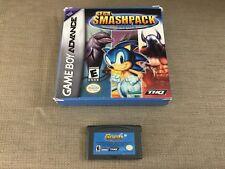 Game Boy Advance SEGA SMASHPACK Ecco Dolphin Sonic Spinball Golden Axe GBA