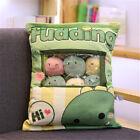 Cartoon Pudding Plush Balls Bag Kitty Cat Doll Snack Pillow Ball Comforting Toy