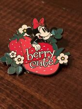"""Disney Pin 2021 Character Food Mystery Minnie Mouse """"Berry Cute"""" New"""