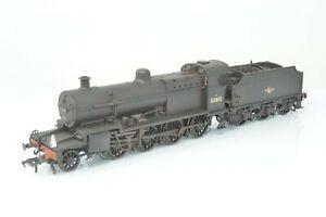 Bachmann OO Gauge - 31-012 Class 7F 53810 BR Black Late Crest (Weathered)  Boxed