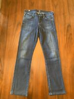 Citizens of Humanity Women's Ava Low Rise Straight Leg Blue Jeans Size 26