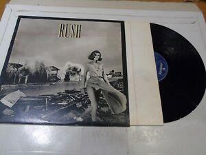 RUSH - Permanent Waves - Classic 1980 UK 6-track vinyl LP