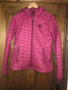 Womans North Face Pink Jacket Size M