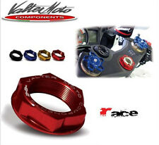 Dado canotto, Yoke Stem Nut, Valtermoto, Suzuki GSXR 750/600 (06-14) Rosso, DC01