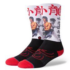 Stance NEW Men's Bruce Lee Socks White BNWT