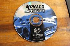 Jeu MONACO GRAND PRIX RACING SIMULATION 2 sur SEGA DREAMCAST (CD seul)