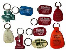 Vintage Retro  Keychains Dealerships Rubber Honda Chevy GM