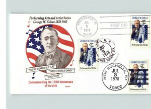 GEORGE M. COHAN, Performing Arts & Artist Series, 3 cancels! 1976 First Day of I