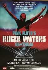 Roger WATERS-pink floyd 2018-ORIG. CONCERT POSTER -- manifesto concerto a1 NUOVO