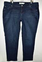 Torrid Boyfriend Stretch Jeans Womens Size 18R Blue Meas. 41x31.5