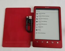 sony e reader prs T3 Tablet FREE POSTAGE freeWire red see pics