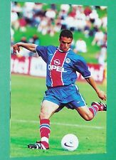 PHOTO UNFP FOOT 2000 PARIS SG PSG ROBERT FOOTBALL 1999-2000 PANINI