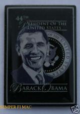 44th US PRESIDENT BARACK OBAMA INAUGURATION USA PIN 2012 WASHINGTON DC 2008 WOW