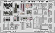 Eduard Zoom SS494 1/72 Mitsubishi A6M3 Zéro Modèle 32 Hamp Tamiya