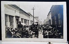 1900s Gran Convite de Caridad, SAN LUIS POTOSI, MEXICO Real Photo PC