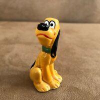 Vintage Pluto Figurine made in Japan classic Walt Disney World Disneyland china