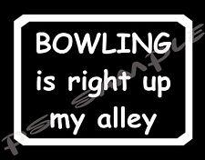 BOWLING - Humor -  Flexible Fridge Magnet
