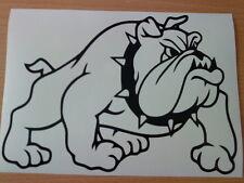 LARGE british english dog bulldog car bonnet side vinyl sticker wall art graphic