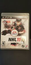 NHL 11 Sony Playstation 3 PS3 ~ Complete game disc, manual, case