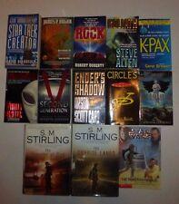 13 Lot Science Fiction Novels,Star Wars,Star Trek,Orson Scott Card,S.M.StirlinS4