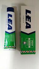 Lea MENTHOL shaving cream soap LARGE 150ml tube UK stock Imported from Spain