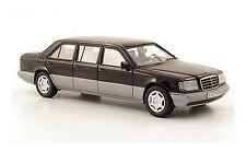 #44305 - Neo Mercedes E250 Diesel (V124) schwarz W124-Langversion - 1990 - 1:43
