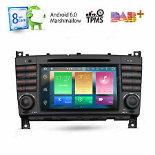 Android 6.0 32GB+2GB RAM Car DVD GPS For Mercedes Benz C-Class W203 G-Class W463