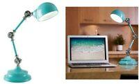 OttLite LED Parker Table Lamp - BLUE - COSTCO#1378544 MODEL#F1485TU9-SHPR