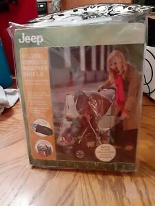 Jeep Deluxe Stroller Weather Shield, New in package.