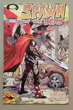 SPAWN #223 Spawn of the Dead WALKING DEAD #1 tribute cover