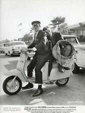 JACK LEMMON PETER FALK  LUV 1967 VINTAGE PHOTO ORIGINAL SCOOTER