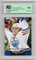 Connor McDavid 2015-16 Upper Deck Collection #CM-12 Rookie Card PGI 10 Oilers