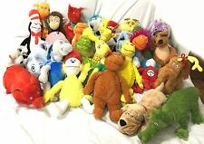 32 Dr. Seuss Kohl's Cares for Kids Plush Stuffed Animals Full Collection Lot