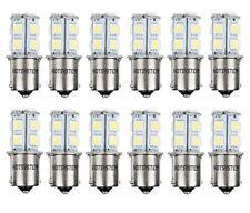 12 X hotsystem 1156 LED SMD LED Bombillas Interior Blanco Frío Camper RV