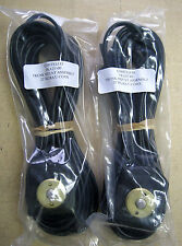 2x COMTELCO TKA25'-00 Trunk Mount Antenna Cable 25' RG58A/U COAX w/o connector