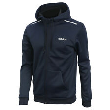 adidas GU Full Zip Climawarm Hoodie Long Sleeve Training Athletic Navy EI5608