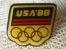 USA '88 OLYMPIC COMMITTEE TEAM PIN * 1988 OLYMPICS