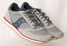 Saucony Jazz Low Pro Charcoal 2866-133 Gray Running Athletic Shoes Men's US 8
