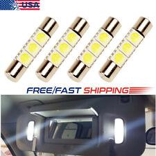4 x White LED 6614F 6641 TS-14V1CP F30-WHP Fuse Visor Vanity Mirror Light Bulb p
