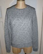 Levis Made and Crafted Womens Grey Marl Crew Sweater