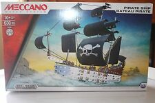 Meccano Pirate Ship, real metal 630 pieces ,ages 10 + New read